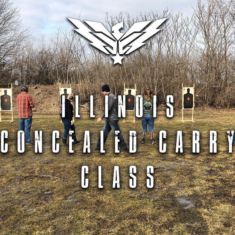 October 9-10: 8 & 16 Hr. IL. Conceal Carry Class (3)