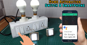 Home Automation Extension Box | 2 way Switch and Smartphone | ESP8266