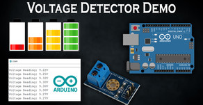 Arduino Voltage Detector Demo