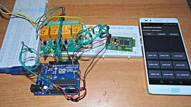 Home automation system make my arduino
