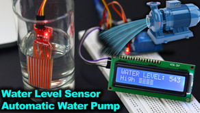 Arduino Water Level Indicator Automatic Water Pump System