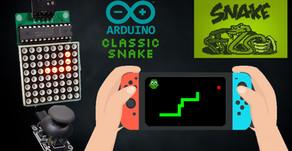 Arduino Snake Game | 8X8 Matrix LED Display  MAX7219