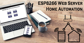 ESP8266 Web Server Control Home Automation