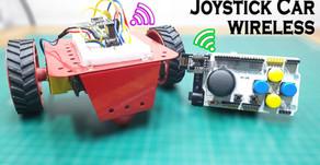 Arduino Wireless Joystick Car nRF24L01 Transceiver