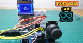 Arduino Pac-Man Game Nokia 5110 Joystick