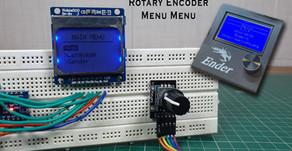 Arduino Rotary Encoder Nokia 5110 Display Main Menu