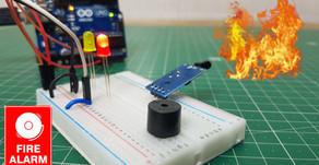 Arduino Flame Sensor | Fire Detector