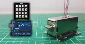 Arduino Keypad Solenoid Lock