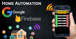 Google Firebase ESP8266 Home Automation System