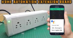 Home Automation Extension Board | NODEMCU ESP8266 | Blynk | Google Assistant