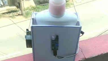 Automatic Hand Sanitizer using Ir sensor