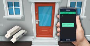 NODEMCU ESP8266 Door / Window Security Notification System | Blynk