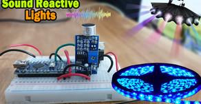 Arduino Sound Reactive 12V Lights