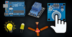 Arduino Touch Sensor LED | Relay | Switch