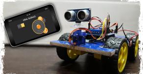 Arduino Bluetooth Smartphone joystick G-Sensor Controlled Car
