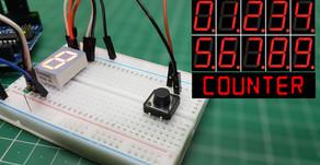 Arduino Seven Segment Display Counter | Push Button | Code Explanation
