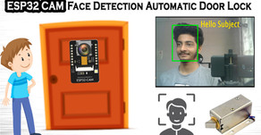 ESP32 CAM Face Detection Door Lock System