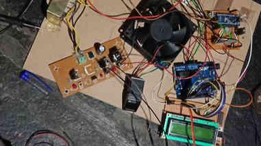 Fingerprint door lock with voice controlled home appliances