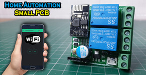 ESP 01 | Home Automation | Small PCB | Blynk
