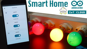Arduino IOT Cloud ESP8266 Home Automation System