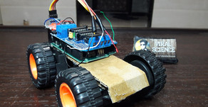 Arduino Bluetooth Smartphone Controlled Car