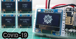 ESP8266 Track Covid 19 Live Outbreak of your Country