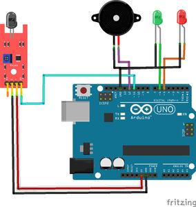 Arduino Flame Sensor   Fire Detector