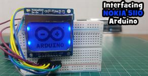 Arduino NOKIA 5110 LCD Interfacing