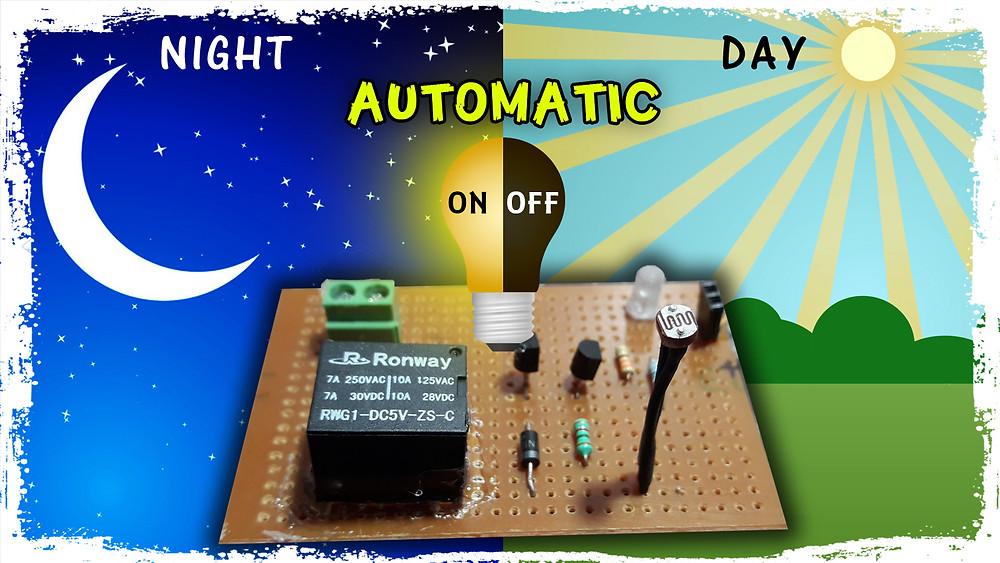 Automatic Night Light Sensor