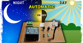 Automatic night light sensor | Dark Sensor | Day / Night ON / OFF sensor