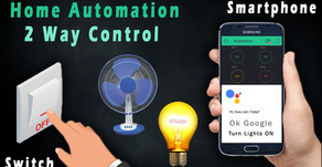 Home Automation | 2 Modes | Switch and Application Control
