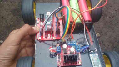 Bluetooth control robotic car