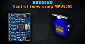 Arduino control Servo with MPU6050