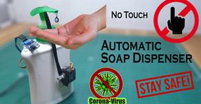Arduino Automatic Soap Dispenser