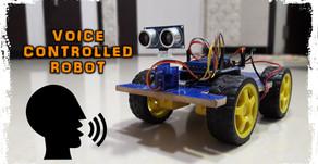 Arduino Voice Controlled Robot Car
