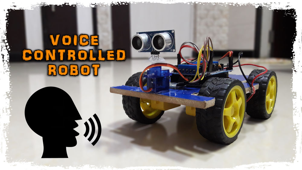 Arduino Voice Controlled Robot