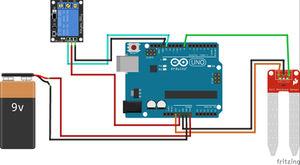 Arduino Soil Moisture Sensor Relay Control