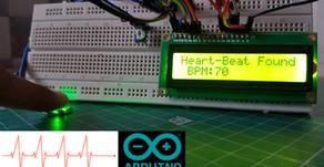 Arduino Pulse Sensor | Heart Beat Measurement