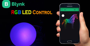 Blynk Control RGB LED Colors