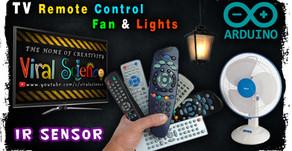 Arduino IR Remote Controller switch (Relay)