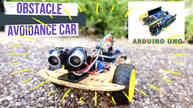DIY Cheap Arduino Obstacle Avoidance Car