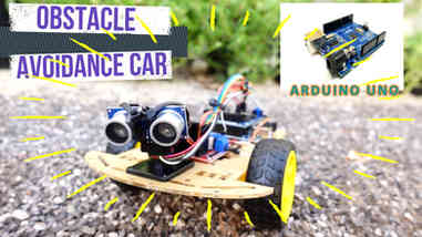 DIY Cheap Arduino Obstacle Avoidance Car