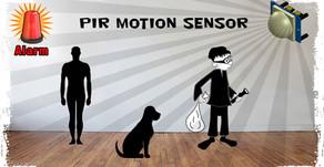 Motion Sensor Light / Alarm | Motion Sensor | PIR Motion Sensor | Relay