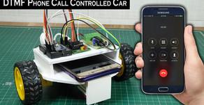 Arduino DTMF Control Car with Phone Call