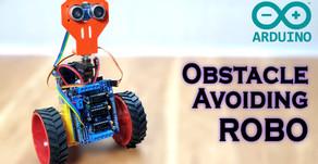 Arduino Simple Obstacle Avoiding ROBO