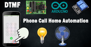 DTMF Decoder | Phone Call  Relay Control | Home Automation