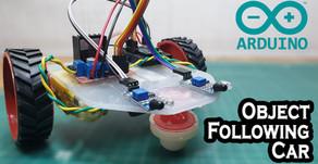 Arduino Object Following Car Robot