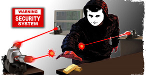 Laser Security Alarm