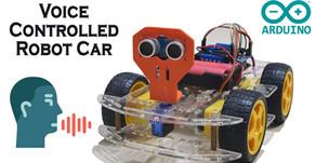 Arduino Voice Controlled Car Robot