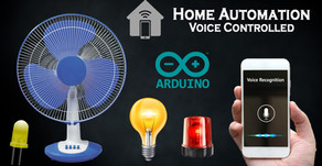 Arduino Voice Controlled Relay | Home Automation | Bluetooth